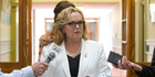 Prime ministerial candidate Judith Collins. Photo / Mark Mitchell