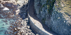 The closure of quake-damaged State Highway 1 near Kaikoura (pictured) has been putting pressure on the alternative inland route between Christchurch and Picton. Photo / File