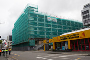 The Reading Cinema carpark building in Wellington will be demolished. Photo / Mark Mitchell