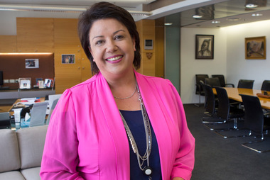 Paula Bennett: 'I'm standing on the cusp of hopefully a positive Monday vote.' Photo / Mark Mitchell