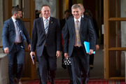 John Key generally was an open book, but on his own future the book was firmly closed.   He only let on to his deputy Bill English in September. Photo / Mark Mitchell