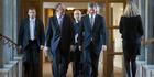 Finance Minister Bill English, with Prime Minister John Key. Photo / Mark Mitchell