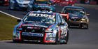Simon Evans got a jump on the V8s field at Pukekohe but expects the challenges to come thick and fast at Taupo. Picture / Simon Chapman