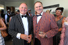 National MP for Tukituki Craig Foss with John Key at Art Deco in Napier two years ago. Photo: Duncan Brown.