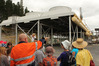 Show visitors take a tour of the nearby Ngawha geothermal power plant.