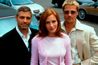 Clooney, Roberts and Pitt all had to take pay cuts to be in the movie.