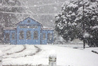 The historic Reefton court house. Photo / ODT