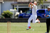 ON THE PROWL: Christian Leopard bowls for Hawke's Bay against Whanganui at Nelson Park, Napier. PHOTO/Warren Buckland