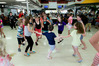 NEXT GENERATION: Kids enjoy the disco which was part of the Napier RSA 100 years celebration weekend. Photo Warren Buckland