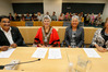 Ralph Correa (left), Sheryl Mai, Paea Paki and Sara Bell are Northland's newest Justices of the Peace, but hopefully they won't be required to quell the rioters any time soon. Photo / John Stone