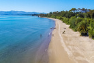 There was plenty of interest in Golden Bay Holiday Park on Tukurua beach but the sale date has been extended so more offers can be made. Photo / Bayleys