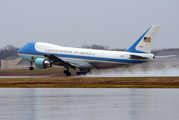Air force One, with President Barack Obama aboard, takes off from Andrews Air Force Base, Md., Tuesday, Dec. 6, 2016. President-elect Donald Trump wants the government's contract for a new Air Force O