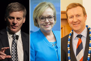 Bill English, Judith Collins and Jonathan Coleman declared they would stand for the position of National Party leader and Prime Minister yesterday.