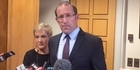 Watch: Watch: Labour leader Andrew Little on PM John Key's resignation
