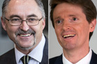 The defamation case taken by Colin Craig, right, against former Conservative Party board member John Stringer will be heard by a judge alone.