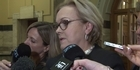 Watch: Watch: Judith Collins stands aside for English in PM race