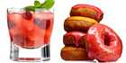 Cocktails may look less calorific than a glass of wine or beer, but some of these drinks contain over 300 calories which is more than a glazed doughnut. Photo / Getty