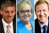 The race for Prime Minister gets crowded - It's Bill English, Jonathan Coleman (right) and now Judith Collins.
