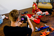 "The Nixons created ""SuperHeroKids"" as a family business. Photo / The Washington Post"
