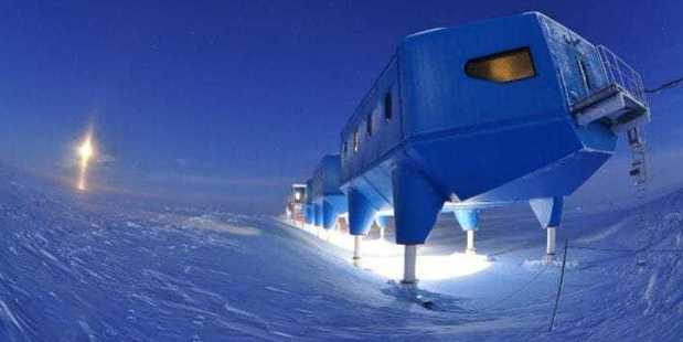 The Halley VI Research Station is home to the British Antarctic Survey. Photo / British Antarctic Survey