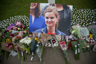 MP Jo Cox was murdered outside her constituency office in June. Photo / AP