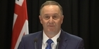 Watch: Watch: John Key resigns - 'This has been the hardest decision I've ever made'