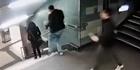 Watch: Raw: CCTV captures thuggish Berlin metro attack