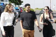 Breakers star, Corey Webster arrives at North Shore District Court on Tuesday morning. Photo / Nick Reed