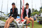 Sisters Kate, left, and Greta Stewart are competing at the youth world championships. Photo / Supplied