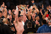 Joseph Parker's WBO heavyweight belt is one of four sought after in the boxing world. Photo / photosport.nz