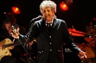 Bob Dylan says he has been so immersed in his life's work that he's never stopped to wonder whether it was literature. Photo / AP