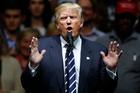 President-elect Donald Trump is unusually unpopular. Photo / AP