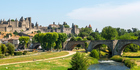 Once a week, we visit nearby Carcassonne for some city time and do our shopping. Photo / Getty Images