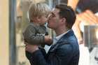 Michael Buble and his son Noah. Photo / Getty