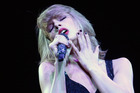 Taylor Swift performs during 'The 1989 World Tour' last year. Photo / Getty