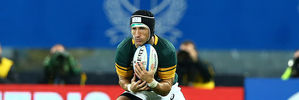 Johan Goosen is stepping away from rugby at the age of 24. Photo / Getty Images