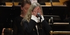 Watch: Watch: Patti Smith blanks out during Nobel Prize performance