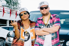 Bruno Mars performs Carpool Karaoke with James Corden during The Late Late Show. Photo / Getty