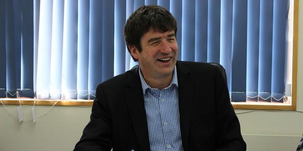 Oritain chief executive Grant Cochrane.