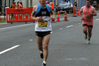 Rotorua's Brendon Keenan finished well ahead of the rest of the field in the 3 Bridges Marathon on Saturday.