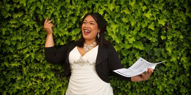 MUSICAL TALENT: Elisha Hulton loves life in Rotorua. PHOTO/STEPHEN PARKER
