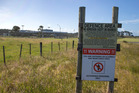Details of the construction of the top secret spy base at Tangimoana were filed with Archives New Zealand with no security rating. Photo / Mark Mitchell