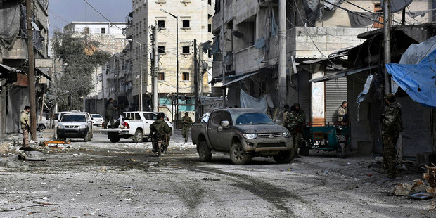 US, Western leaders calling for immediate Aleppo cease-fire