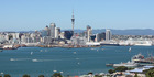 Auckland City viewed from Mt Vitoria in Devonport. Photo / Chris Gorman