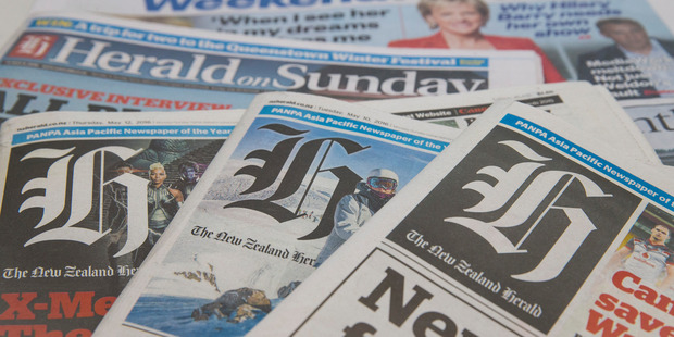 The  Weekend Herald  is leading the charge, bucking global trends to reach 469,000 readers. Photo / Jason Oxenham