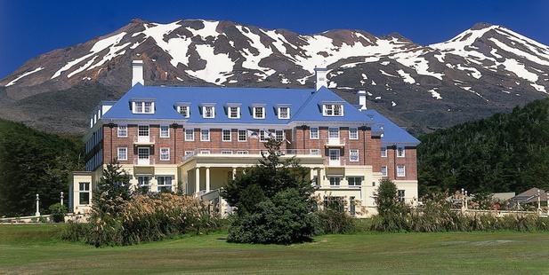 The Grand Chateau Mt Ruapehu. Photo / NZ Herald