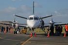 Whanganui airport welcomes Air Chathams. Photo / Bevan Conley
