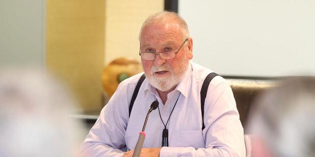 Hawke's Bay Regional Council chair Rex Graham.