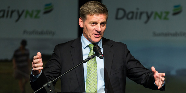 New Zealand Prime Minister Bill English.