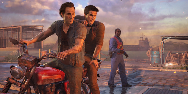 Loading Uncharted 4 is one of our games of the year.